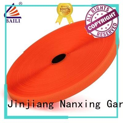 BAILI reliable hook tape customized for shoes