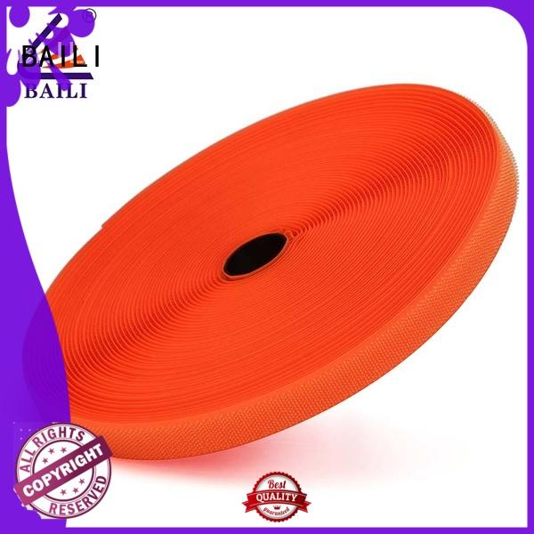 strong peeling strength heavy duty hook and loop tape manufacturer for leather-ware BAILI
