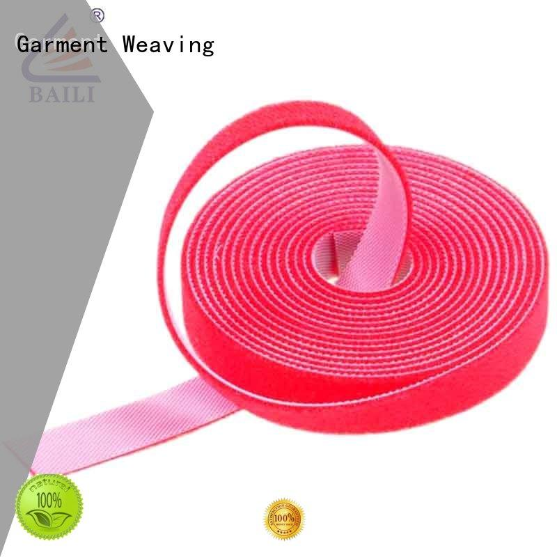 durable double sided hook and loop hook design for strapping