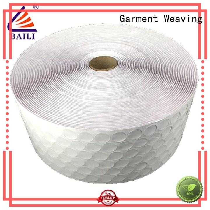 BAILI with hot melt glue adhesive hook and loop wholesale for metal
