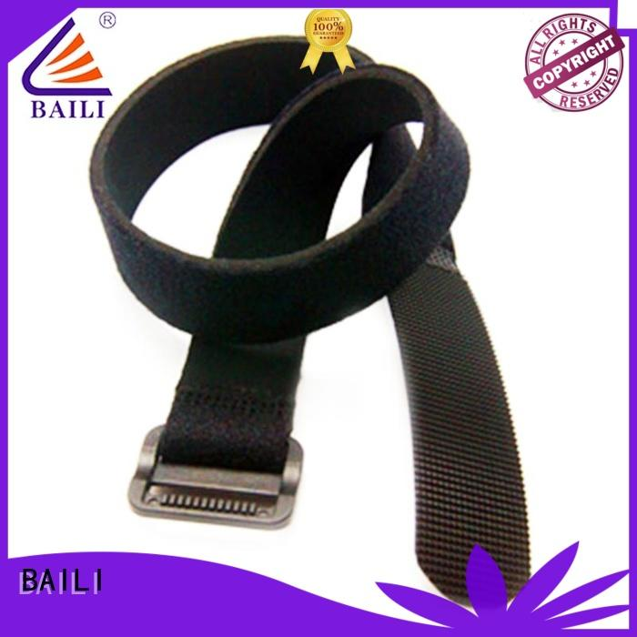 BAILI nylon loop fastener wholesale for luggage