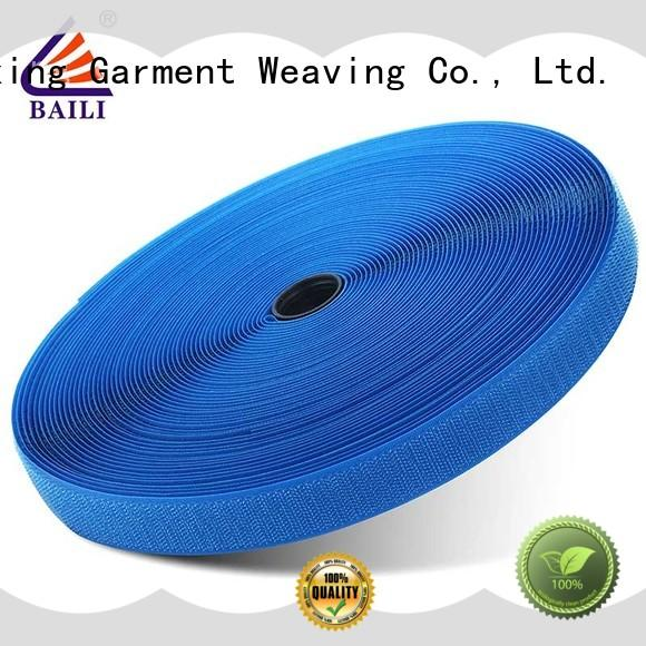 nylon 3m hook and loop wholesale for leather-ware BAILI