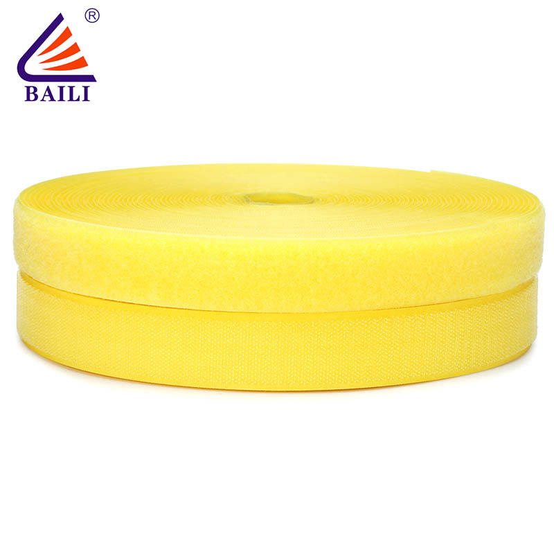 sew on hook and loop tape roll Garment Accessories A grade quality Shallow the raw material