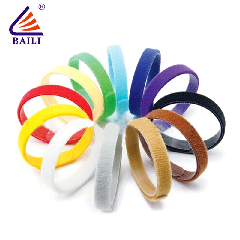 adjustable loop fastener wrap tie supplier for medical equipment-2