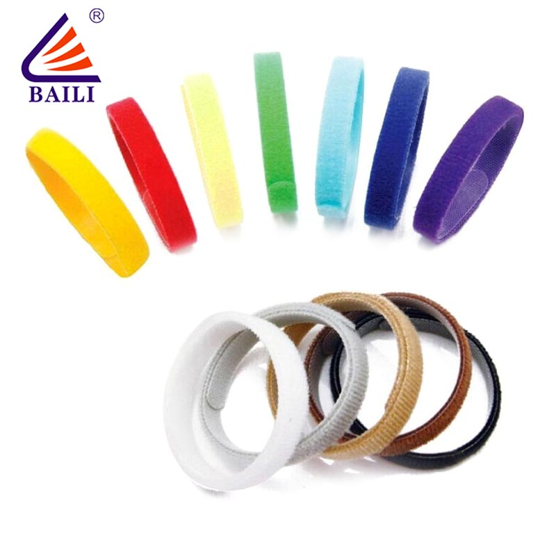 adjustable loop fastener wrap tie supplier for medical equipment-1