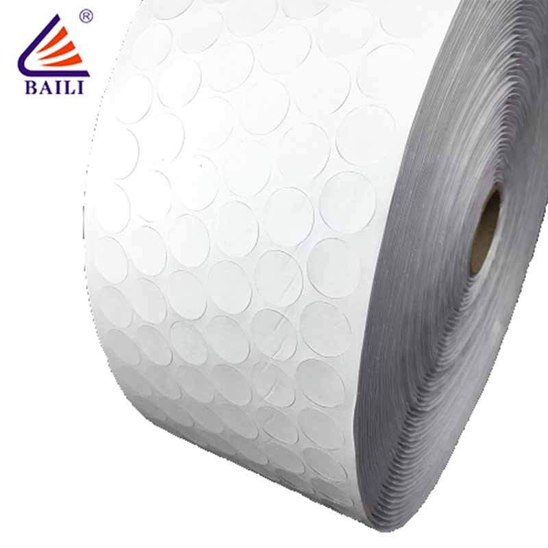 BAILI with hot melt glue hook and loop dots supplier for wall-2