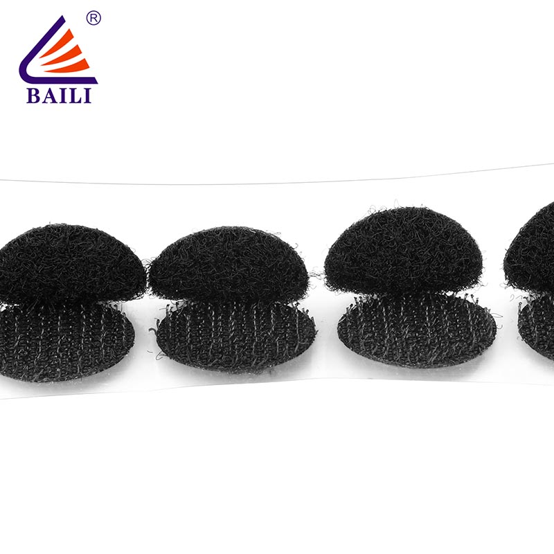BAILI stable self adhesive hook and loop fasteners customized for metal-2