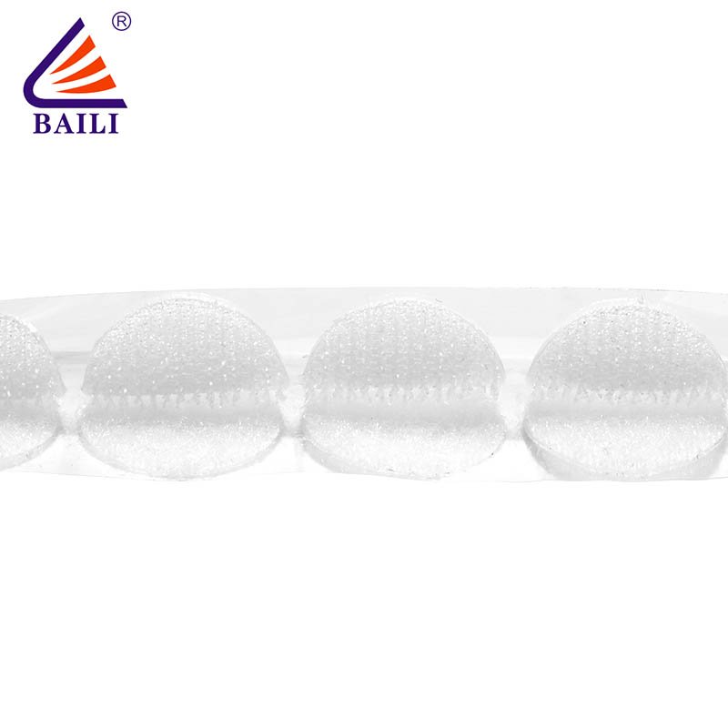 BAILI nylon self-adhesive hook and loop customized for wall-2