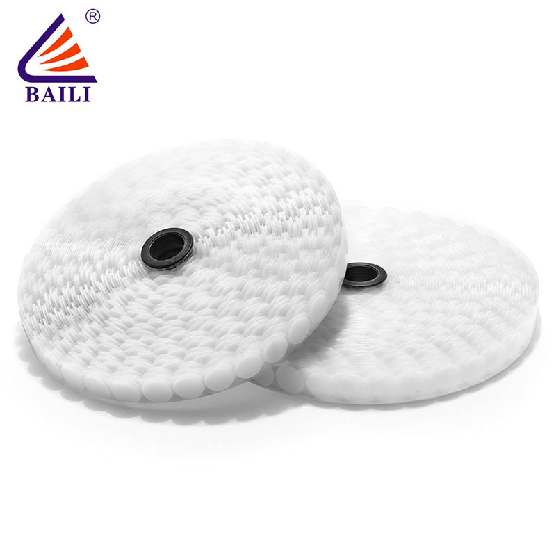 BAILI nylon self-adhesive hook and loop customized for wall-1