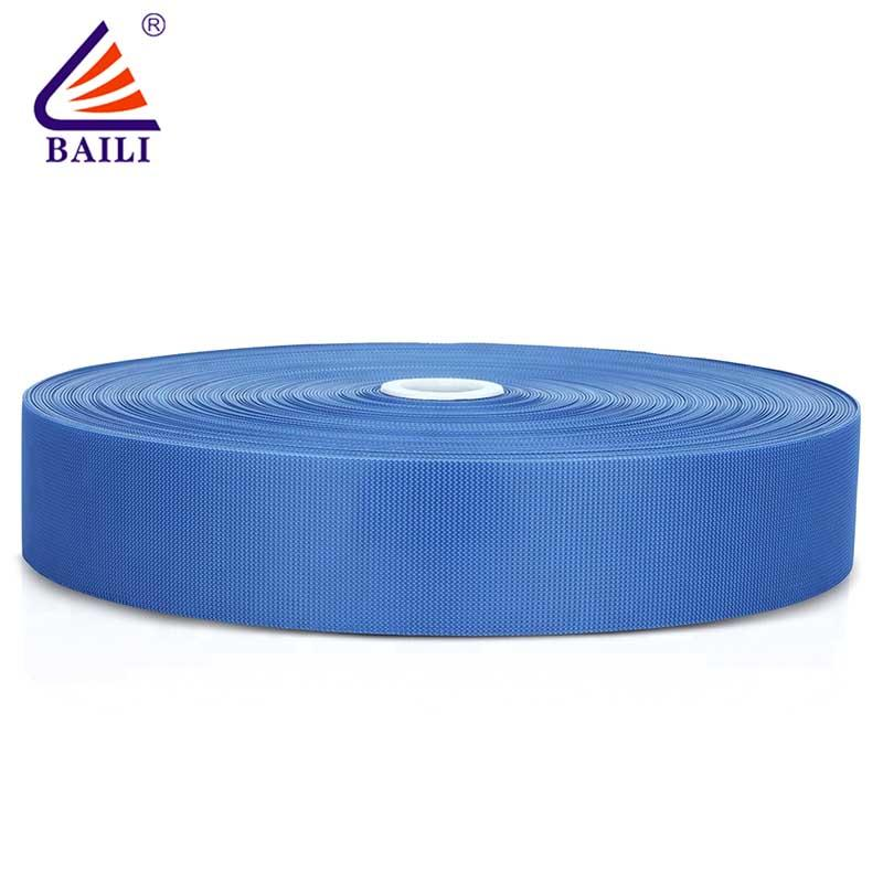 industrial hook and loop tape Injection hook nylon quality tape roll black