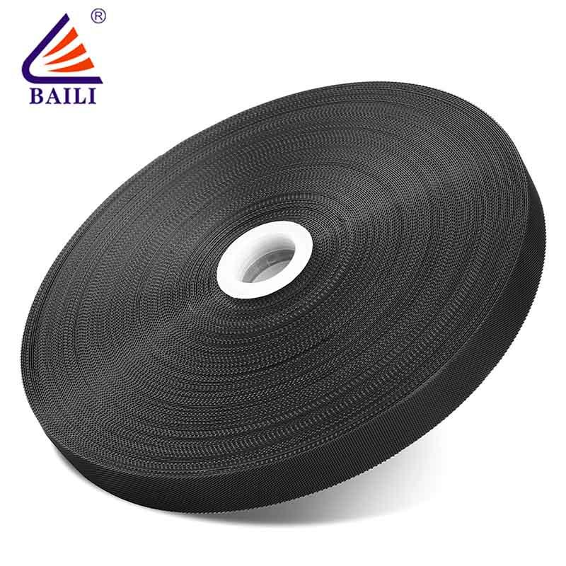 Plastic molded hook pile tape 300mm wide
