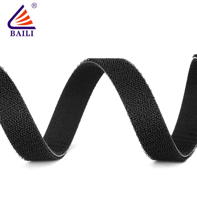 BAILI 20mm50mm double sided hook and loop tape design for strapping-1