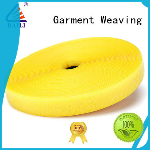nylon heavy duty hook and loop tape multicolor for shoes BAILI