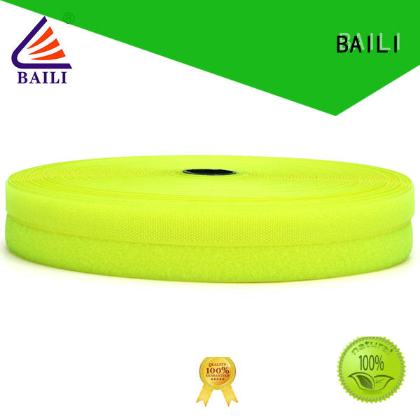 BAILI A grade quality hook tape manufacturer for bags