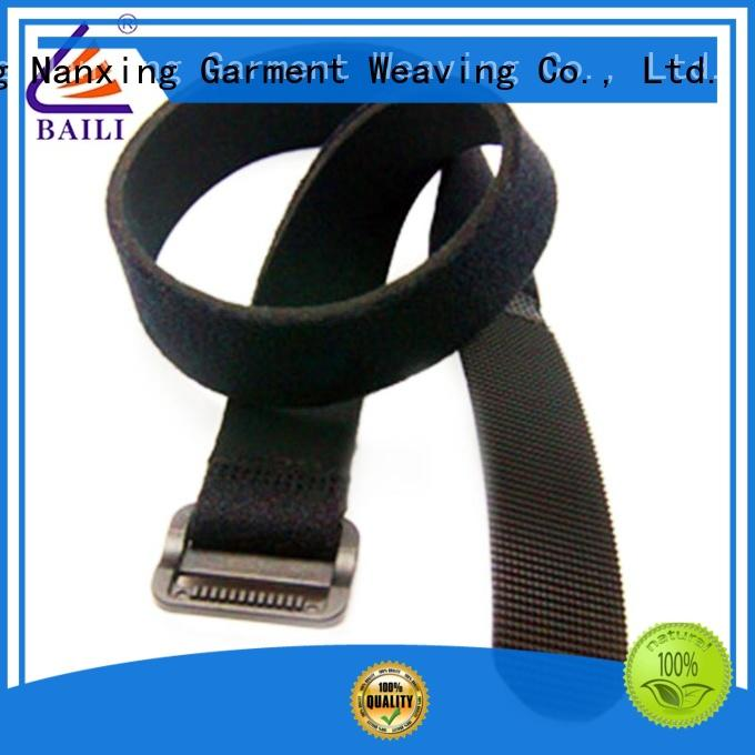BAILI wrap tie hook and loop strap supplier for luggage
