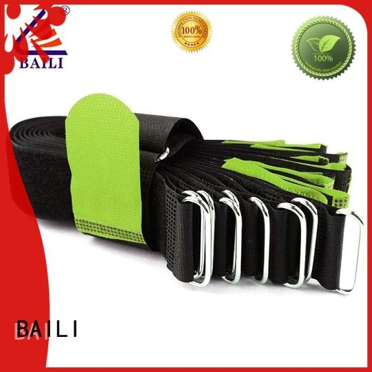 multi-functional hook and loop cable ties strong peeling strength series for luggage