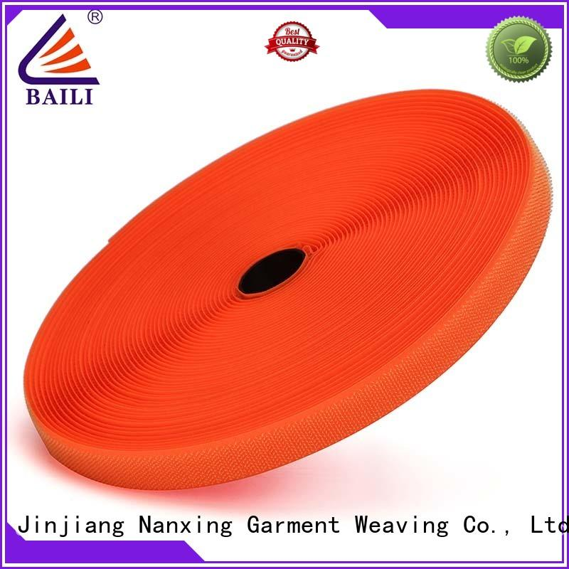 BAILI nylon hook and loop fastener tape customized for costumes