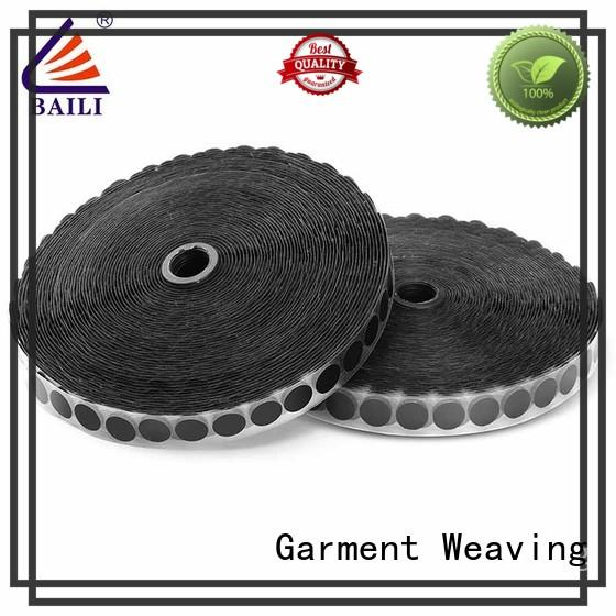 BAILI with hot melt glue adhesive hook and loop tape supplier for wood
