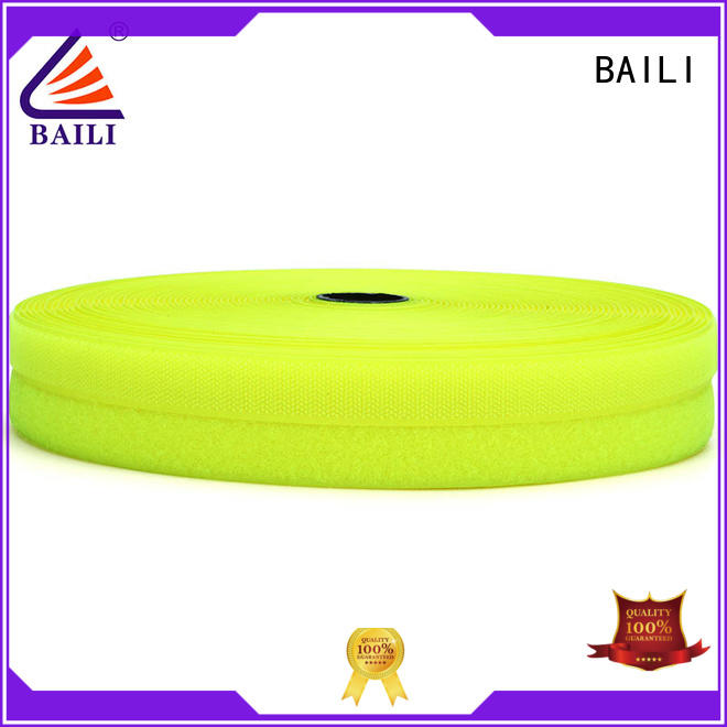 BAILI strong peeling strength 3m hook and loop factory direct supply for curtain