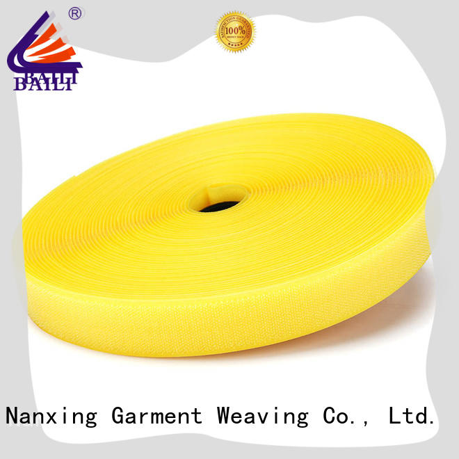BAILI quality hook and loop tape for sewing wholesale for bags