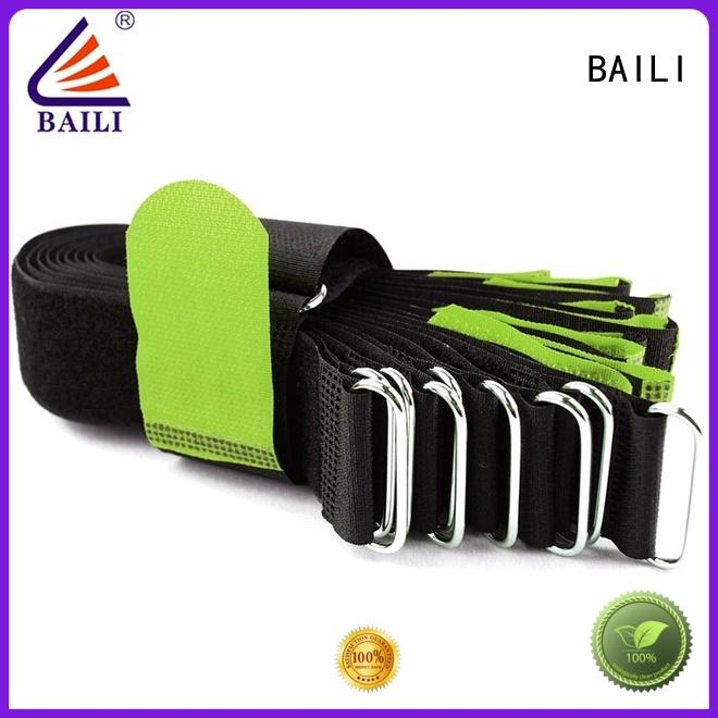 BAILI nylon nylon hook and loop fasteners supplier for bundle