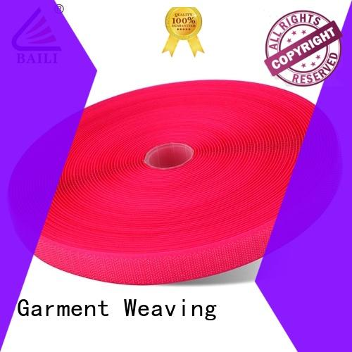 Sew on wide hook and loop tape 10mm-150mm colored direct manufacturer