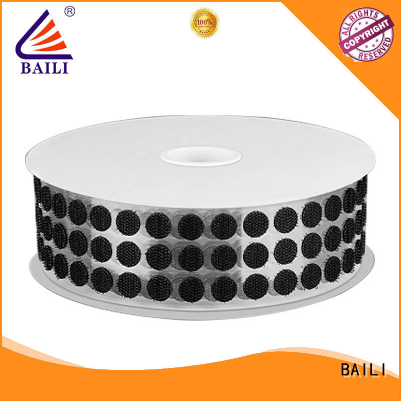 BAILI high viscosity self-adhesive hook and loop manufacturer for photo frame