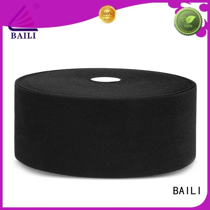 BAILI molded hook pile tape manufacturer for luggage