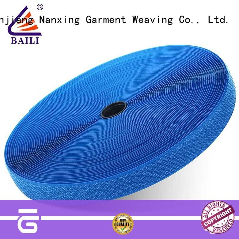 BAILI quality hook and loop customized for curtain