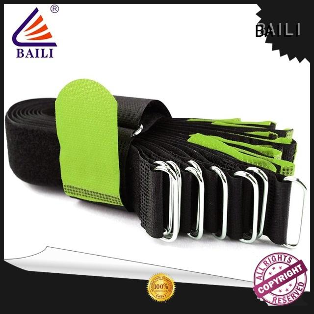 BAILI strong peeling strength loop fastener factory direct supply for luggage