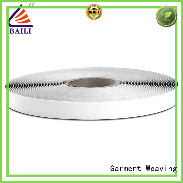 BAILI top quality adhesive hook and loop tape customized for wood