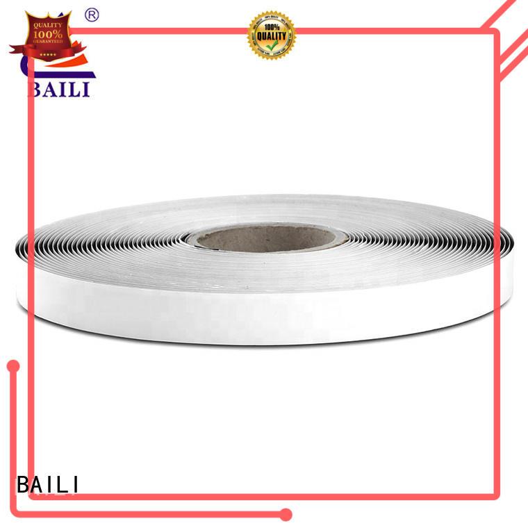 BAILI stable self adhesive hook and loop fasteners supplier for metal