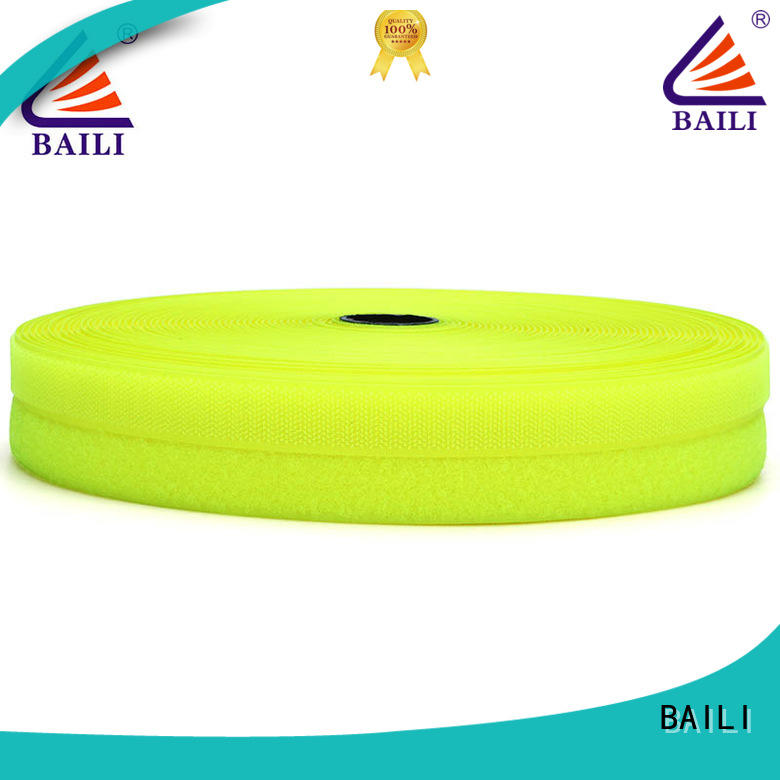 BAILI eco-friendly hook & loop tape customized for shoes