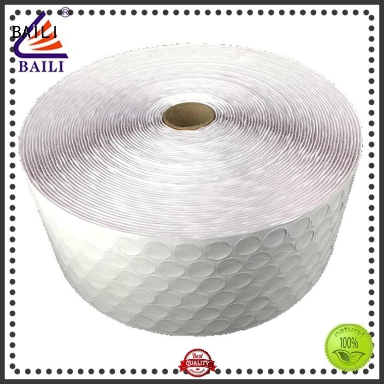 BAILI nylon adhesive hook and loop customized for photo frame