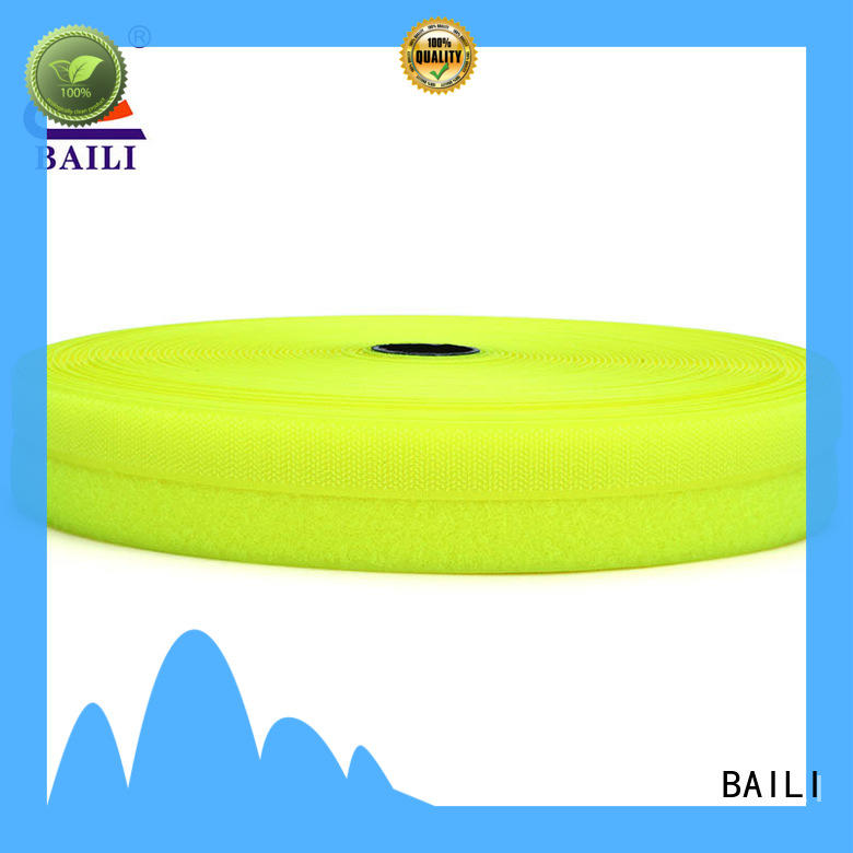 BAILI multicolor hook tape customized for costumes
