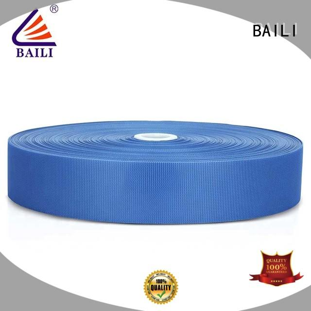 300mm wide fastener tape customized for bags BAILI