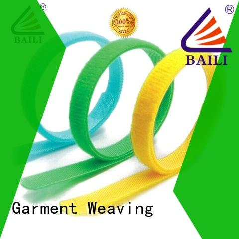 BAILI multi-functional hook and loop strap supplier for bundle