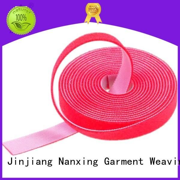 real double sided hook and loop resuable supplier for strapping
