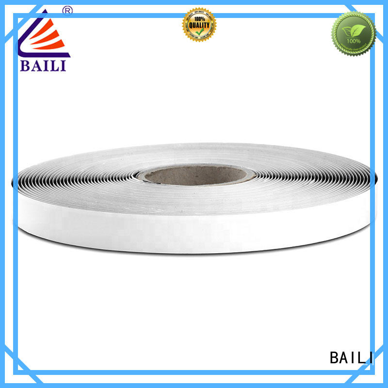 BAILI stable self adhesive hook and loop manufacturer for wall