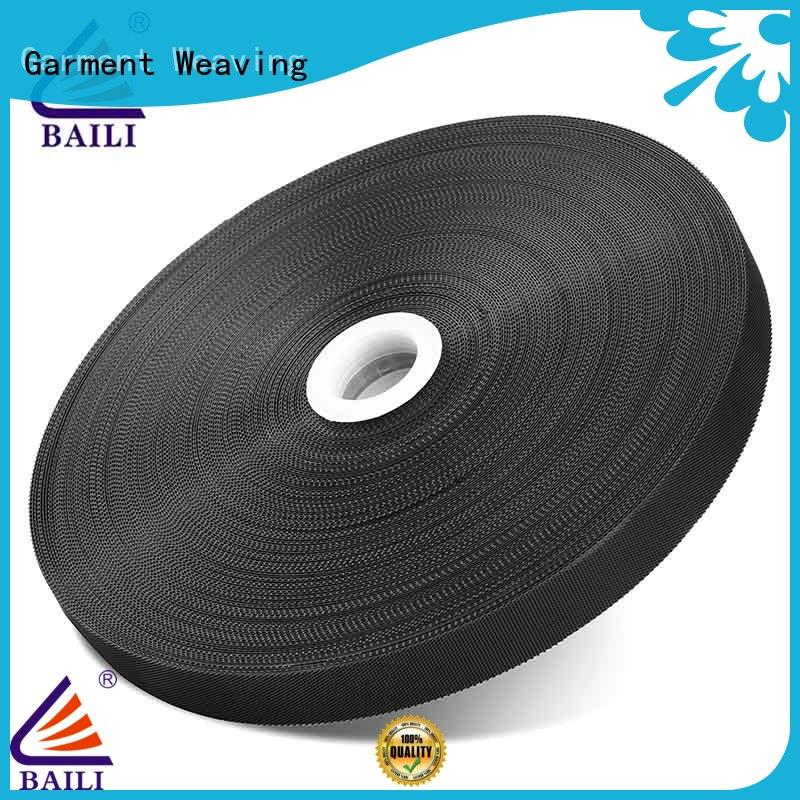 BAILI oem 3m hook and loop tape plastic for clothes