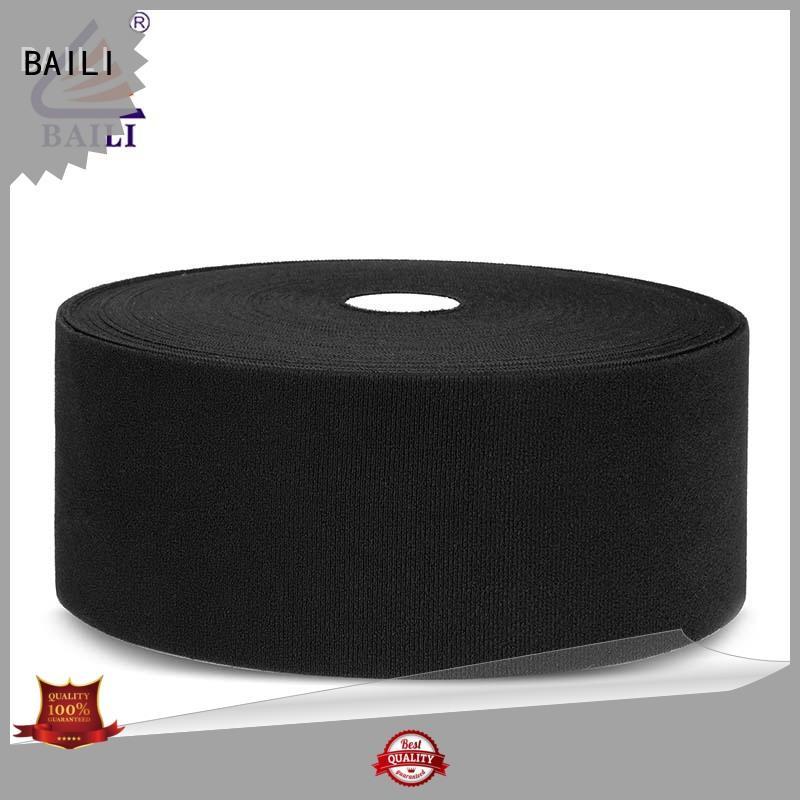 BAILI plastic hook pile tape supplier for luggage
