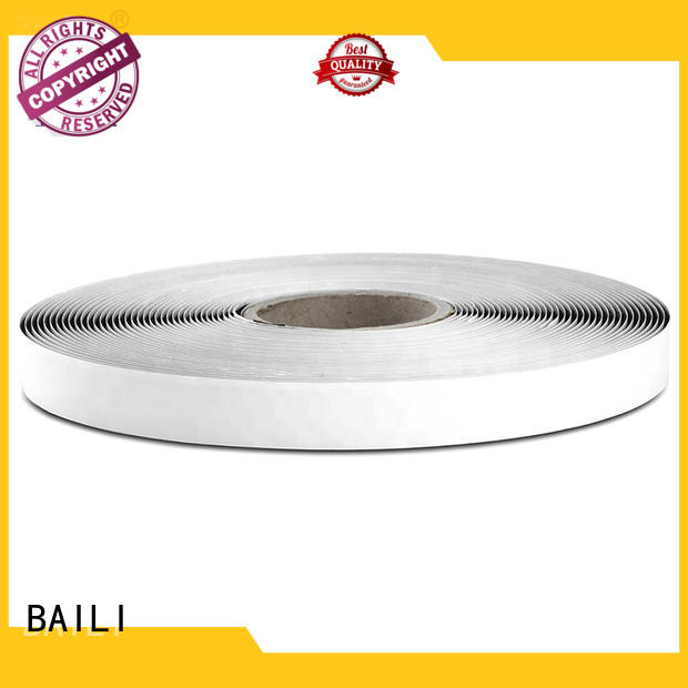 BAILI top quality adhesive backed hook and loop tape with dots for metal