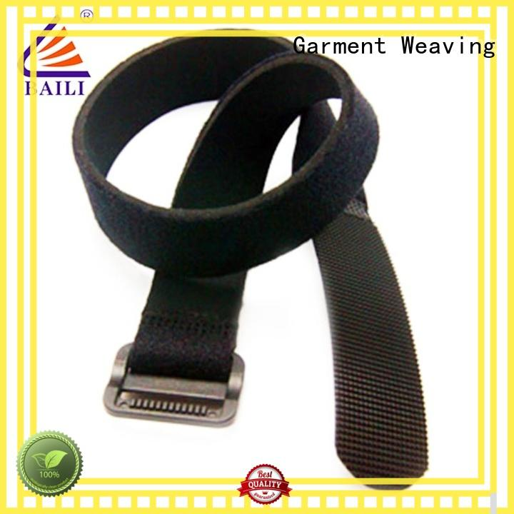 quality nylon hook and loop fasteners elastic supplier for bundle