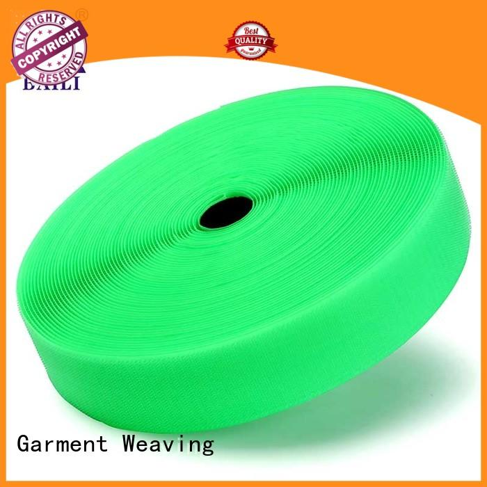 BAILI A grade quality hook and loop tape for sewing customized for leather-ware