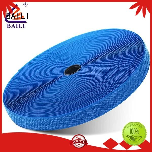 hook and loop strips Fasteners tape roll Garment Accessories A grade quality Blue material