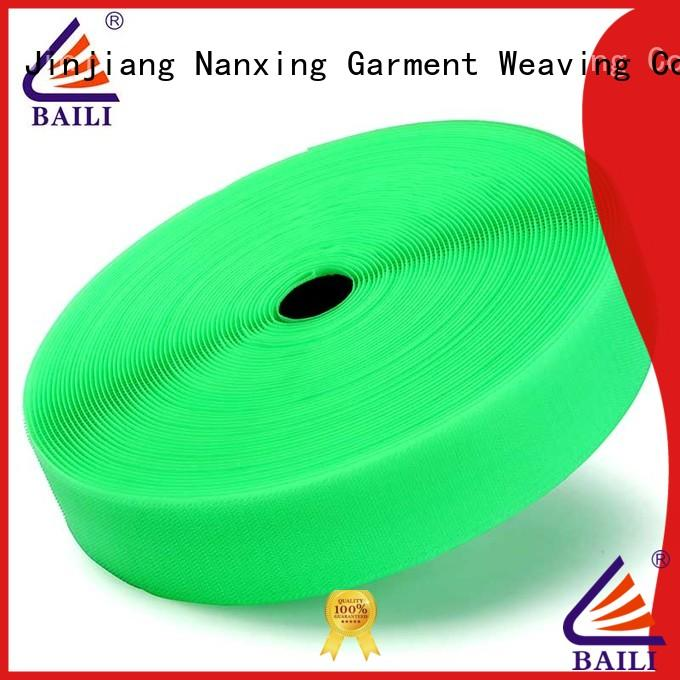 durable hook and loop fastener tape nylon factory direct supply for bags