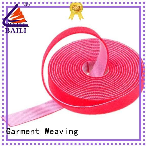 BAILI roll double sided hook and loop factory direct supply for cable
