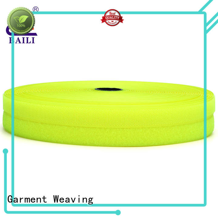 BAILI strong peeling strength hook & loop tape manufacturer for shoes