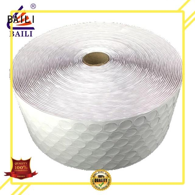 BAILI with hot melt glue adhesive hook and loop supplier for photo frame