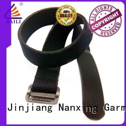 oem hook and loop strap nylon wholesale for bundle